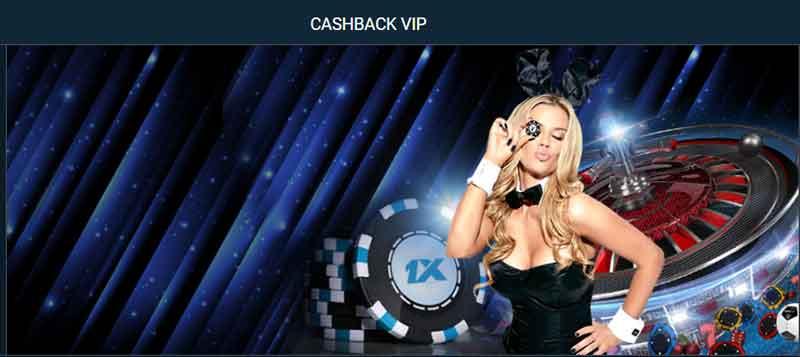 1xbet cashback vip